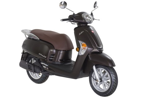 Kymco Like 50 Chocolate Edition.
