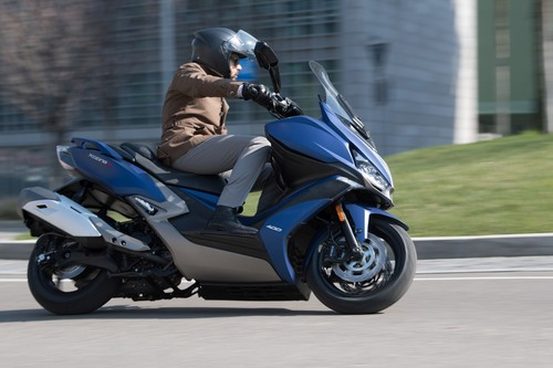 Kymco Xciting S 400i.
