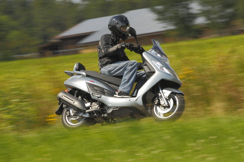 Kymco Yager GT 125.