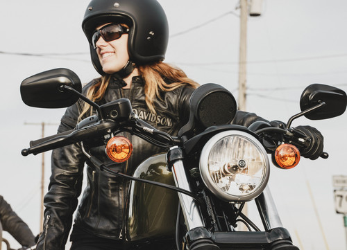 Ladies of Harley Rally in Hamburg.