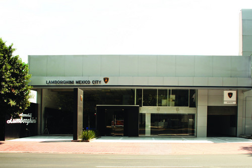 Lamborghini Mexico City.