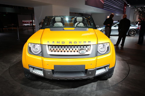 Land Rover DC100 Sport.