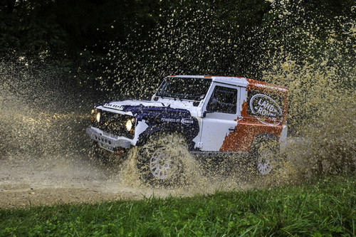 Land Rover Defender by Bowler.