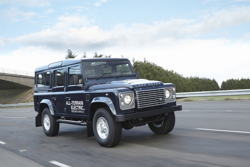 Land Rover Electric Defender.