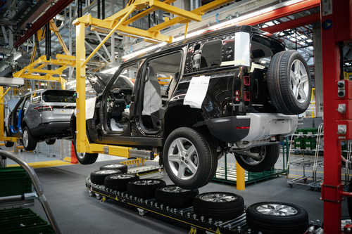 Land Rover-Produktion in Nitra.