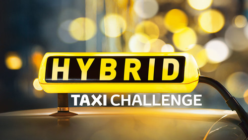 Logo Hybrid Taxi Challenge.