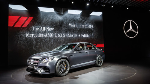 "Los Angeles Auto Show 2016: Mercedes-AMG E 63 S 4Matic+ ""Edition 1""."