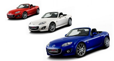 "Mazda MX-5 ""20th Anniversary""."