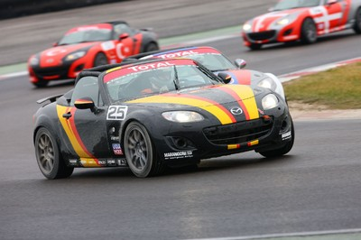Mazda MX-5 Open Race.