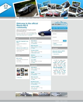 Mazda MX-5-Website.