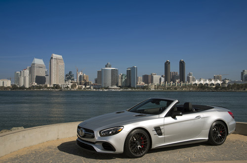 Mercedces-Benz SL 63.