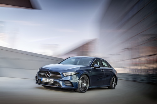 Mercedes-AMG A 35 4Matic Limousine.