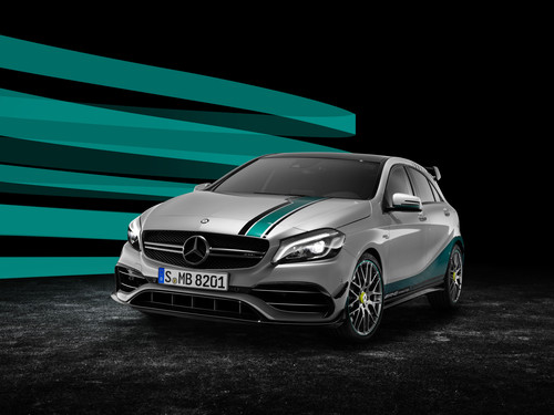 Mercedes-AMG A 45 4Matic Petronas 2015 World Champion Edition.