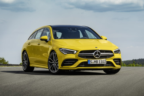 Mercedes-AMG CLA 35 4Matic Shooting Brake.