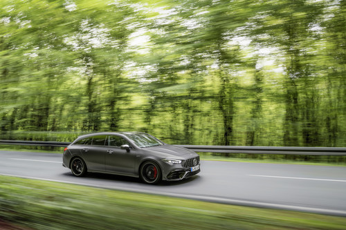 Mercedes-AMG CLA 45 4Matic+ Shooting Brake.
