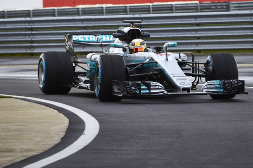 Mercedes-AMG F1 W08 EQ Power+.