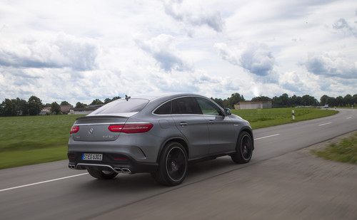 Mercedes-AMG GLE 63 S Coupè.
