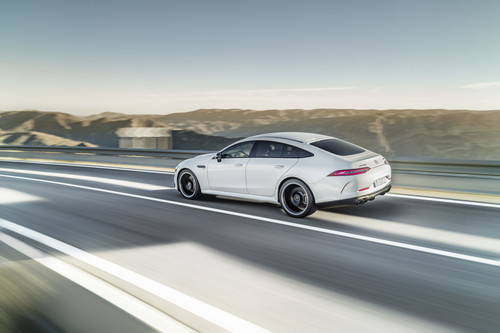 Mercedes-AMG GT 53 4Matic+ 4-Türer Coupé.