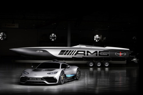 Mercedes-AMG Project One und Cigarette Racing 515 Project One inspired by Mercedes-AMG.