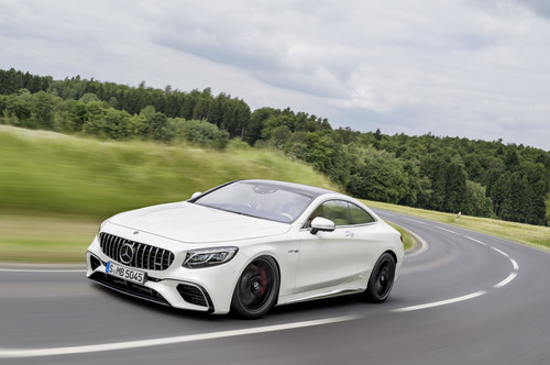 Mercedes-AMG S 63 4Matic+ Coupé.