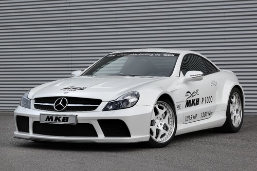 Mercedes-Benz AMG SL 65 Black Series P 1000 von MBK.