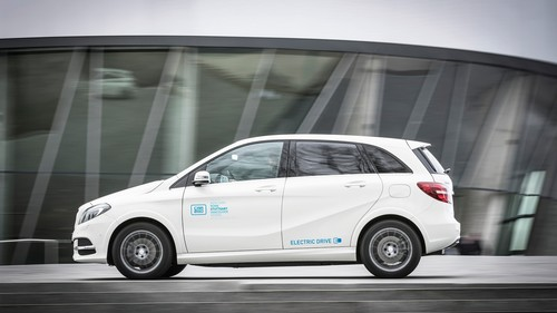 Mercedes-Benz B-Klasse Electric Drive Car2go.