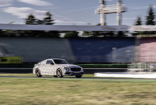 Mercedes-Benz C 63 Coupe.