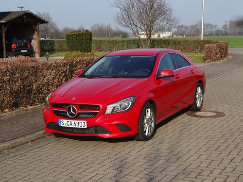 Mercedes-Benz CLA 200.