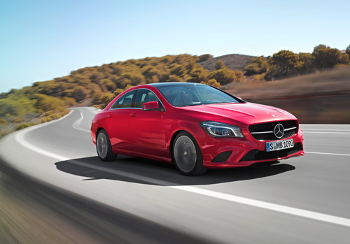 Mercedes-Benz CLA.