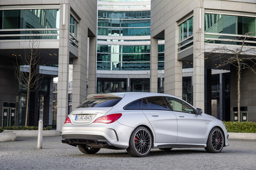 Mercedes-Benz CLA 45 AMG 4Matic Shooting Brake.
