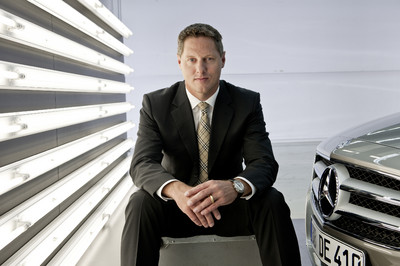Mercedes-Benz CLS: Design-Chef Prof. Gordon Wagener.