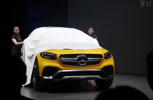 Mercedes-Benz Concept GLC Coupé.