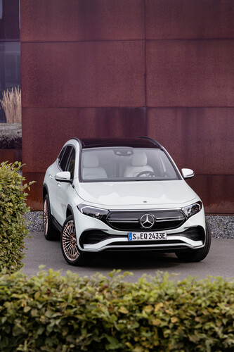 Mercedes-Benz EQA.