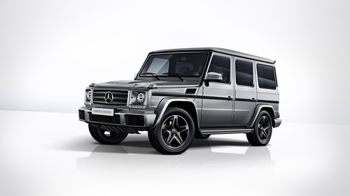 Mercedes-Benz G 500 Limited Edition.