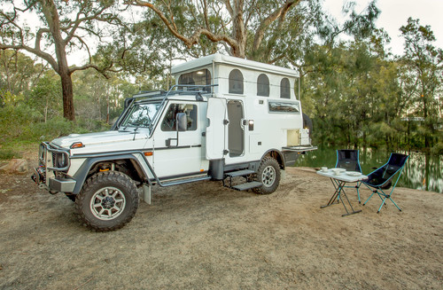 Mercedes-Benz G Pro Earthcruiser Escape.