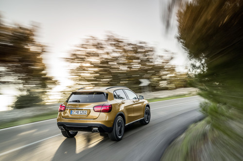 Mercedes-Benz GLA.