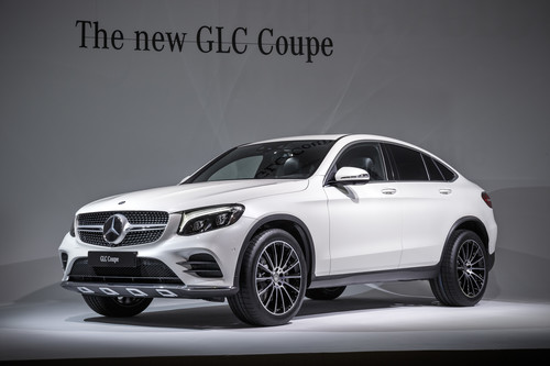 Mercedes-Benz GLC Coupé.