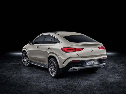Mercedes-Benz GLE Coupé.