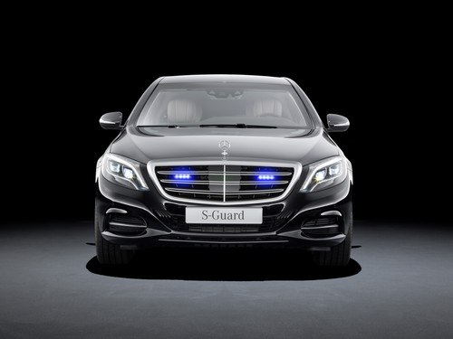 Mercedes-Benz S 600 Guard.