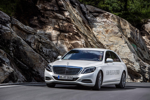 Mercedes-Benz S500 Plug-in-Hybrid.