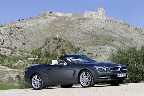 Mercedes-Benz SL 500.