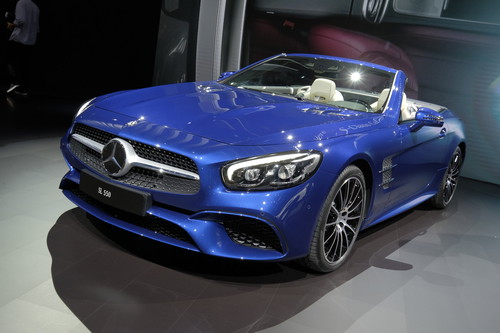 Mercedes-Benz SL 550.