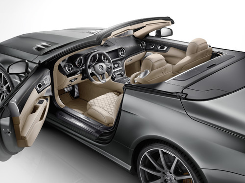 "Mercedes-Benz SL 65 AMG ""45th Anniversary""."