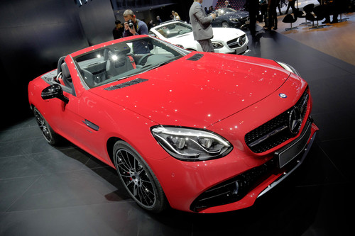 Mercedes Benz SLC.