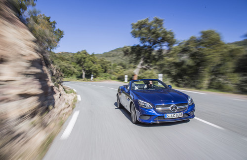 Mercedes-Benz SLC 300.