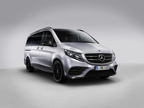 Mercedes-Benz V-Klasse Night Edition.
