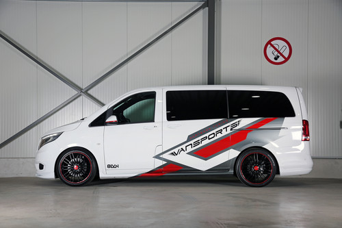 Mercedes-Benz Vito 119 Mixto VP Spirit von Vansports.