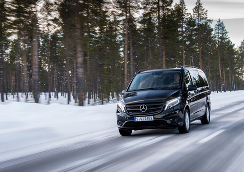 Mercedes-Benz Vito 4x4 Tourer.