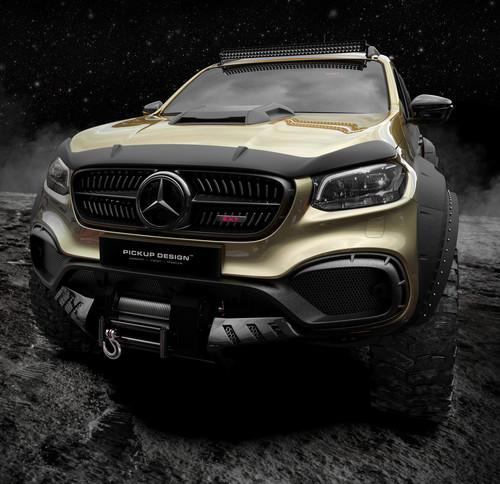Mercedes-Benz X-Klasse Exy 6×6 Concept von Carlex - Auto-Medienportal.Net