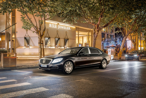 Mercedes-Maybach S 600.